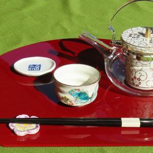 喜寿祝いギフト 九谷焼 ぐい呑み 金魚 waza