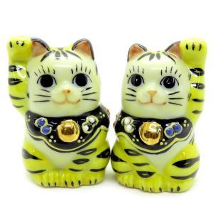 気まぐれに幸運を呼ぶ♪ ちび招き猫 クタニ寅次郎|waza