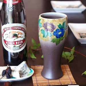 父の日ギフト2017 ビールグラス 陶器 九谷焼 吉田屋...