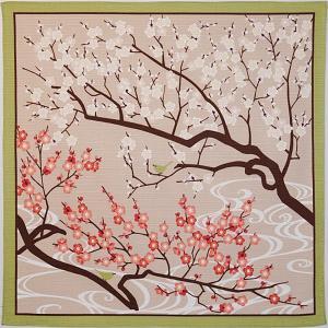 梅と鶯 wazakka