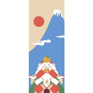 初日の出    富士山 お正月 手ぬぐい...