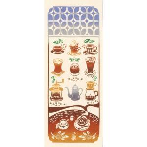 行きつけの喫茶店    珈琲 アイスコーヒー 手ぬぐい wazakka