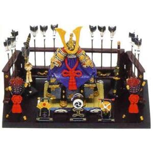 五月人形 端午の節句 兜平飾り中赤 節句人形・こどもの日・鎧兜・コンパクトサイズ・ミニサイズ|wazakkahonpo