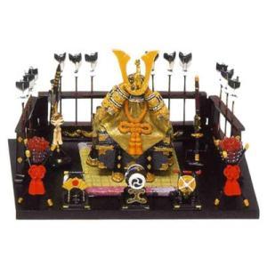 五月人形 端午の節句 兜平飾り中緋色 節句人形・こどもの日・鎧兜・コンパクトサイズ・ミニサイズ|wazakkahonpo