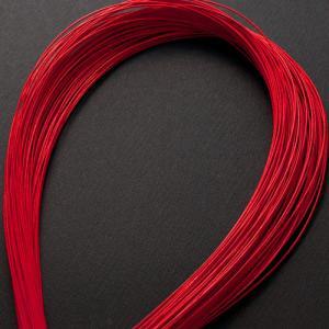単色水引100本セット 色 赤 (MZI-01)