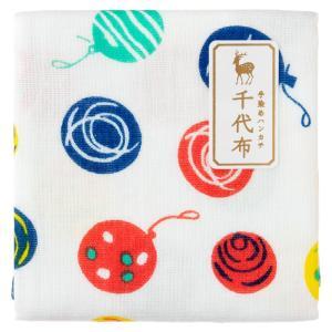 中川政七商店 千代布 水風船 ガーゼハンカチ Cotton handkerchief
