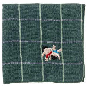 相撲に特化した、相撲好きにはたまらないハンカチ。 これを持って相撲観戦をしたいハンカチシリーズです。...