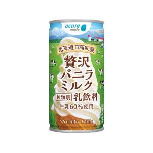 贅沢バニラミルク 190g 30本入 | 送料無料 バニラ ソフトクリーム ドリンク 缶 ジュース ...