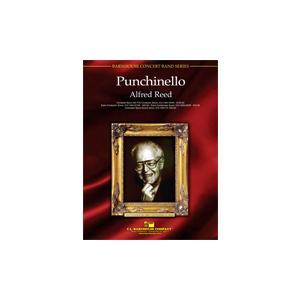 (楽譜) パンチネロ / 作曲:アルフレッド・リード (吹奏楽)(フルスコアのみ)|wbpplus