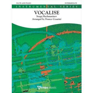 (楽譜) ヴォカリーズ / 作曲:セルゲイ・ラフマニノフ 編曲:フランコ・チェザリーニ (フルート&ピアノ) wbpplus