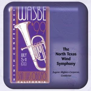 (CD-R) 第9回世界吹奏楽大会 1999 (WASBE) / 演奏:ノース・テキサス・ウィンド・シンフォニー (吹奏楽)|wbpplus