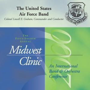 (CD) ミッドウェスト・クリニック 2000 / 指揮:ローウェル・グレアム / 演奏:アメリカ空軍バンド (吹奏楽)|wbpplus