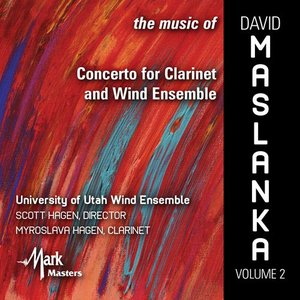 (CD) デヴィッド・マスランカ作品集 Vol.2 / 演奏:ユタ大学ウィンド・アンサンブル (吹奏楽)|wbpplus