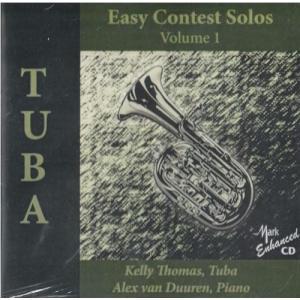 (CD) テューバのための易しいコンテスト・ソロ集第1集 / 演奏:ケリー・トーマス (テューバ) wbpplus