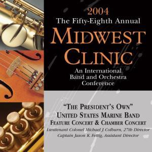 (CD2枚組) ミッドウェスト・クリニック 2004 / 指揮:マイケル・J・コルバーン / 演奏:アメリカ海兵隊バンド (吹奏楽) wbpplus
