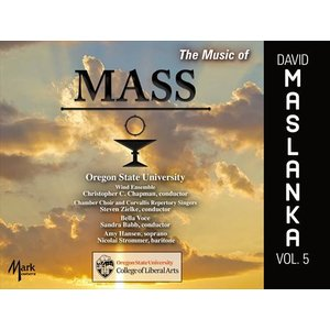 (CD) デヴィッド・マスランカ作品集 Vol.5 - ミサ / 演奏:オレゴン州立大学ウィンド・アンサンブルほか (吹奏楽)|wbpplus