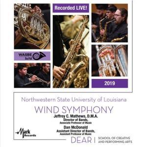 (CD) 2019 WASBE:ルイジアナ州ノースウェスタン州立大学ウィンド・シンフォニー(アメリカ) (吹奏楽)