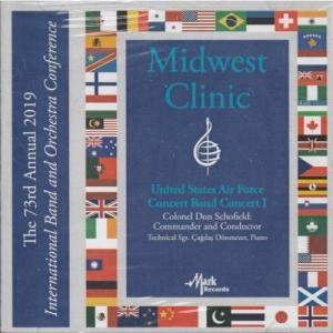 (CD) 2019ミッドウェスト・クリニック:アメリカ空軍バンド・コンサート1 (吹奏楽)|wbpplus