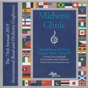 (CD) 2019ミッドウェスト・クリニック:アメリカ空軍バンド・コンサート2 (吹奏楽)|wbpplus