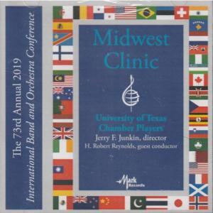 (CD) 2019ミッドウェスト・クリニック / 指揮:ジェリー・ジャンキン / 演奏:テキサス大学チェンバー・プレイヤーズ (室内楽)|wbpplus