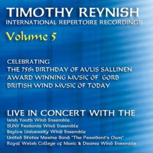 (CD) ティモシー・レイニッシュ・ライヴ・イン・コンサートVol. 5 / 指揮:ティモシー・レイニッシュ (吹奏楽) wbpplus