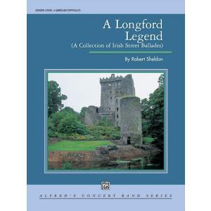 (楽譜) ロングフォードの伝説 / 作曲:ロバート・シェルドン (吹奏楽)(フルスコアのみ)|wbpplus