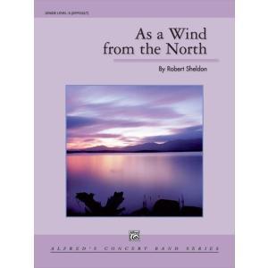 (楽譜) 北からの風のように / 作曲:ロバート・シェルドン (吹奏楽)(スコア+パート譜セット)|wbpplus