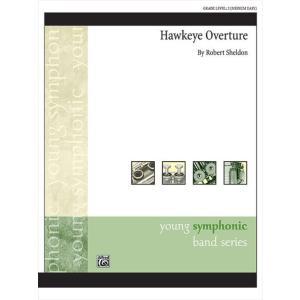(楽譜) ホークアイ序曲 / 作曲:ロバート・シェルドン (吹奏楽)(スコア+パート譜セット) wbpplus