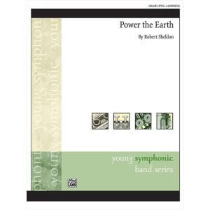 (楽譜) パワー・ジ・アース / 作曲:ロバート・シェルドン (吹奏楽)(スコア+パート譜セット) wbpplus