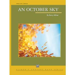 (楽譜) 10月の空 / 作曲:バリー・ミルナー (吹奏楽)(スコア+パート譜セット) wbpplus