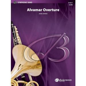 (楽譜) アルヴァマー序曲 / 作曲:ジェイムズ・バーンズ (吹奏楽)(フルスコアのみ)|wbpplus