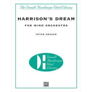 (楽譜) ハリスンの夢 / 作曲:ピーター・グレイアム (吹奏楽)(フルスコアのみ) wbpplus