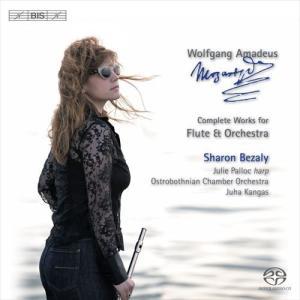 (CD/SACD Hybrid) モーツァルト:フルートとオーケストラのための作品全集 / 演奏:シャロン・ベザリー (フルート)|wbpplus