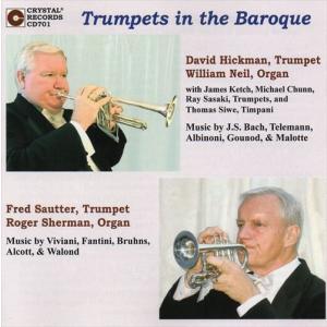 (CD) トランペッツ・イン・ザ・バロック / 演奏:デヴィッド・ヒックマン、フレッド・ザウター (トランペット)|wbpplus