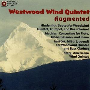(CD) オーグメンテッド / 演奏:ウェストウッド木管五重奏団 (木管五重奏)|wbpplus