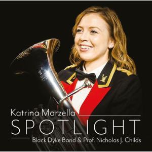 (CD) スポットライト / 演奏:カトリーナ・マーゼラ(バリトン)、ブラック・ダイク・バンド (バリトン/ブラスバンド)|wbpplus