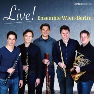 (CD) ライヴ! / 演奏:アンサンブル・ウィーン=ベルリン (木管5重奏)|wbpplus