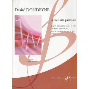 (楽譜) 田園小組曲 / 作曲:デジレ・ドンデイヌ (クラリネット5重奏) wbpplus