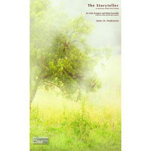 (楽譜) ストーリーテラー(トランペット協奏曲版) / 作曲:ジェイムズ・M・スティーヴンスン (吹奏楽)(安価版スコア+パート譜セット)|wbpplus