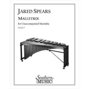(楽譜) マレットリックス / 作曲:ジャレッド・スピアーズ (マリンバ) wbpplus