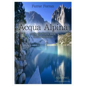 (楽譜) アクア・アルピナ / 作曲:フェレール・フェラン (吹奏楽)(スコア+パート譜セット)|wbpplus