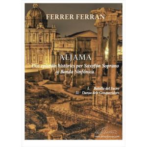 (楽譜) アルヤーマ / 作曲:フェレール・フェラン (吹奏楽)(スコア+パート譜セット)|wbpplus