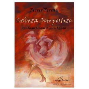 (楽譜) カベサ・コンポスティーソ / 作曲:フェレール・フェラン (吹奏楽)(スコア+パート譜セット)|wbpplus