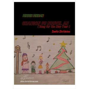 (楽譜) 新年の歌 / 作曲:フェレール・フェラン (吹奏楽)(スコア+パート譜セット)|wbpplus