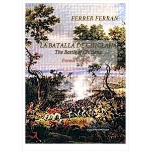 (楽譜) チクラーナの戦い / 作曲:フェレール・フェラン (吹奏楽)(スコア+パート譜セット) wbpplus