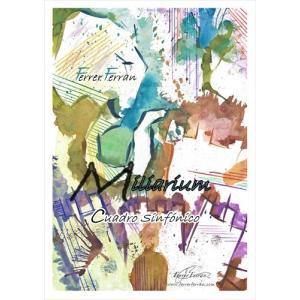 (楽譜) ミリアリウム / 作曲:フェレール・フェラン (吹奏楽)(スコア+パート譜セット) wbpplus
