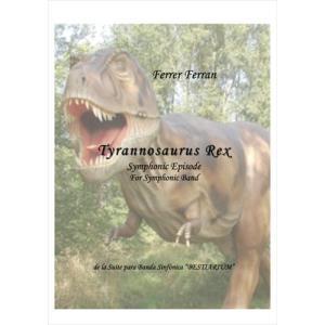 (楽譜) ティラノサウルス / 作曲:フェレール・フェラン (吹奏楽)(スコア+パート譜セット) wbpplus
