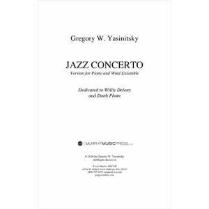 (楽譜-レンタル) ピアノと吹奏楽のためのジャズ協奏曲 / 作曲:グレッグ・ヤシニツキー (吹奏楽 ...