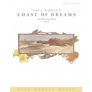 (楽譜) コースト・オブ・ドリームス / 作曲:ポール・ドゥーリー (吹奏楽)(パート譜のみ-レンタ...