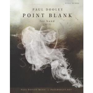 (楽譜) ポイントブランク / 作曲:ポール・ドゥーリー (吹奏楽)(パート譜のみ-レンタル)